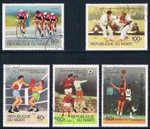 Niger - Jeux Olympiques De Montréal 364/368 Oblit. - Ete 1976: Montréal