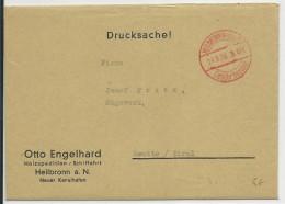"1938 - ENVELOPPE De HEILBRONN Avec CACHET ""GEBÜHR BEZAHLT"" Pour REUTTE / TIROL - Marcofilia - EMA ( Maquina De Huellas A Franquear)"