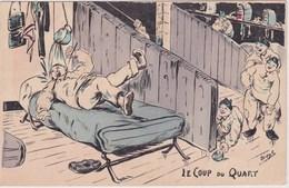 Illustration Orens Le Coup Du Quart Armée Militaire Soldat - Orens