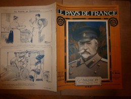 1917 LPDF :Joffre;Français & Serbes à Veliselo;Mutilés Au Travail Agricole à Montluel;Salon Des Armées;St-Nicolas Russe - Magazines & Papers