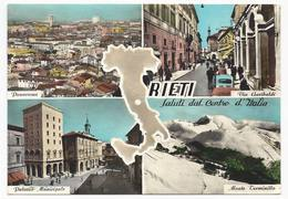 Rieti - Saluti Dal Centro Italia - H3101 - Rieti