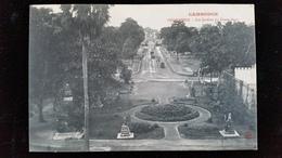 CPA  Cambodge, Phnom, Pnom Penh Jardins - Kambodscha