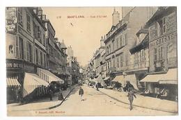 MOULINS  (cpa 03) Rue D'Allier - Magasins  -   - L 1 - Moulins