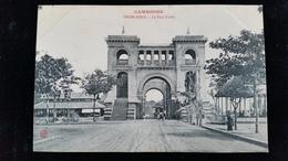 CPA  Cambodge, Phnom, Pnom Penh Pont Fabre - Cambodge
