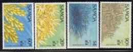 1994 Samoa Corals Hong Kong Complete Set Of 4 MNH - Samoa