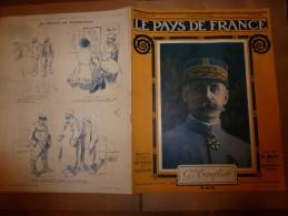 1917 LPDF :Craonne;Belges Au Front British;Boys-Scouts;Madrid Plaza De Toros;Tanganyika;Italiens Au CARSO; Etc - Magazines & Papers