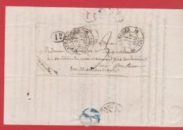 Lettre De Avranches     -  Pour Coutances   --11 Janv 1835 - Marcophilie (Lettres)