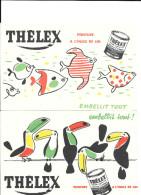 Buvard Publicitaire THELEX - Farben & Lacke