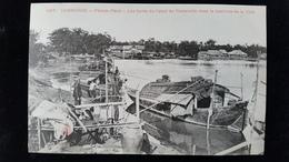 CPA  Cambodge, Phnom, Pnom Penh Canal De Verneville - Cambodia