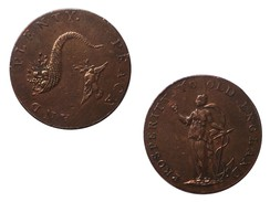 Token 18th Great Britain Prosperity To Old England Peace And Plenty - 1662-1816 : Anciennes Frappes Fin XVII° - Début XIX° S.