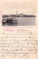Cpa Saint Petersbourg 1901 - Forteresse De Pierre Et Paul - Russia