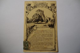 CPA 37 INDRE ET LOIRE LOCHES. Collection Historique Des Châteaux De France. Donjon De Loches.