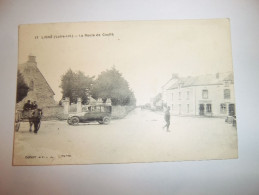 5acf - CPA N°17 - LIGNE - La Route De Couffé - [44] - Loire Atlantique - - Ligné