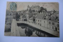 CPA 37 INDRE ET LOIRE LOCHES. Vue Générale De La Ville Haute.