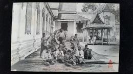 CPA  Cambodge, Phnom, Pnom Penh Musiciens - Cambodia