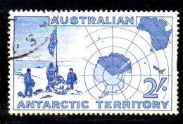 T135 - AAT , Yvert N. 1 Usato - Territorio Antartico Australiano (AAT)