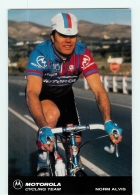 Norm ALVIS . 2 Scans. Cyclisme. Motorola 1991 - Cycling
