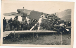 ACCIDENT D´AVION - CARTE PHOTO (latecoere 17.3 Accident Narbonne 20 11 1926 Ou Toulouse 23.5.1927 ) - Accidents