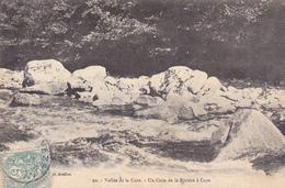 89 VALLEE  DE LA CURE. CPA RARE. UN COIN DE LA RIVIÈRE A CURE. ANNÉE 1908 - France