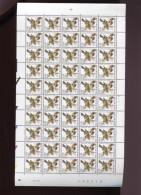 Belgie  Buzin Vogels Birds 2985 050/0.01€ In Volledig Vel Drukdatum 28/5/2001 Plaatnummer 1 - 1985-.. Birds (Buzin)