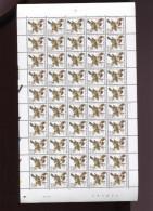 Belgie  Buzin Vogels Birds 2985 050/0.01€ In Volledig Vel Drukdatum 28/5/2001 Plaatnummer 1 - 1985-.. Vögel (Buzin)