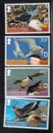 2012 South Georgia WWF Birds White Frame  Complete Set Of 4 MNH - Georgia Del Sud