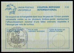 UNITED NATIONS VIENNA  10 JAHRE WIENER BÜRO Der UN FDC 23.08.89 On Int. Reply Coupon Reponse IRC IAS Antwortschein La24 - Cartas