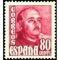 ES1023STV-LFT***1023.España.Spain  Espagne. General FRANCO.1948/54. (Ed 1023**) Sin Charnela - 1931-Today: 2nd Rep - ... Juan Carlos I