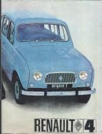 Dossier Usagé D'achat Et De Financement D'une Renault 4 (4L)/DIAC/RNUR/Mai 1966         AC 129 - Automovilismo