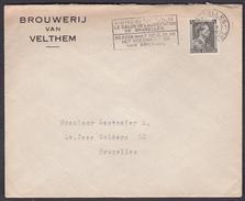 ENVELOPPE  BRASSERIE/ BROUWERIJ VAN VELTHEM  - 1939 - Bières - Andere Verzamelingen