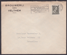 ENVELOPPE  BRASSERIE/ BROUWERIJ VAN VELTHEM  - 1939 - Bières - Autres Collections