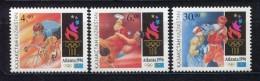 Kazakhstan 1996 Olympic Games Atlanta Sports Boxing Wrestling Cycling Stamps Michel 123-125 SC 146-148 - Kazakhstan