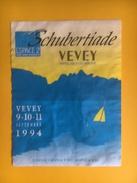 2026 - Schubertiade Vevey Suisse 1994 Espace 2 Radio Suisse Romande Caves De L'hôpital - Musique