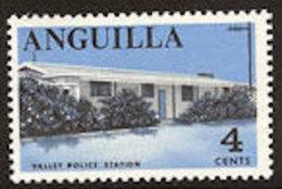 Anguilla 1968: Michel-No. 20 ** MNH (aus Satz 17-31) Valley Police Station - Polizia – Gendarmeria