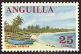 Anguilla 1967: Michel-No. 26 ** MNH (aus Satz 17-31) Island Harbour Beach - Ferien & Tourismus