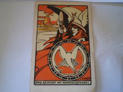 Illustrator : Jos.Speybroucke // Patriotic - Propaganda No 2 // Prive Uitgegeven Kaarten 19?? Zeldzaam - Belgio