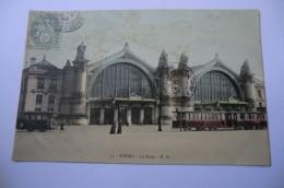 CPA 37 INDRE ET LOIRE TOURS. La Gare.