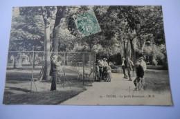 CPA 37 INDRE ET LOIRE TOURS. Le Jardin Botanique.