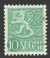 Finland, 10 M. 1954, Sc # 316, Used. - Finland