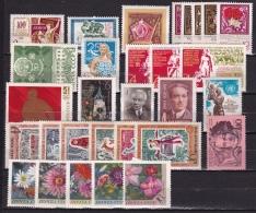 Rusland Russia 1970 30 Stamps With Several Sets MNH Michel Between 3743 - 3824 - Ongebruikt