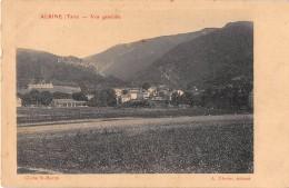 CPA 81 ALBINE VUE GENERALE - Francia