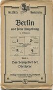 Deutschland - Paasche 's Wanderkarten - Berlin Und Seine Umgebung 20er Jahre - Blatt 4 Das Seengebiet Der Oberspree 1:75 - Topographische Karten