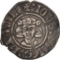 Hainaut, Jean II D'Avesnes, Esterlin, Maubeuge, TTB, Argent, Boudeau:2099 - 476-1789 Monnaies Seigneuriales