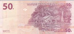 CONGO BRAZZAVILLE - BILLET NEUF DE 50 FRANCS - 2000 - Congo