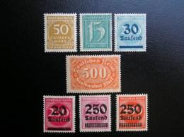 179-251-275-282-285-292-295   Neuf** , (179, Sans Gomme)  Voir Photos - Deutschland