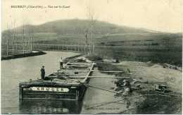 BEURIZOT (Côte D´Or):  Vue Sur Le Canal, Péniche Krüger - Altri Comuni