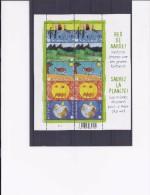 Belgie - Belgique 4014/18 Velletje Van 10 Postfris - Feuillet De 10 Timbres Neufs  -  Red De Aarde - Feuilles Complètes