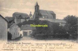 CPA  LES ENVIRONS DE BEAUMONT L'EGLISE DE SOLRE ST GERY NELS SERIE 10 NO 28 - Beaumont