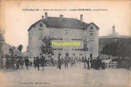 CPA  25 PONTARLIER HOTEL DU COMMERCE LOUIS GUINARD - Pontarlier