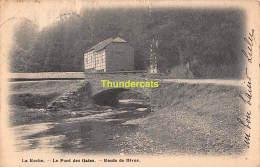 CPA  LA ROCHE LE PONT DES GATES ROUTE DE HIVES - La-Roche-en-Ardenne
